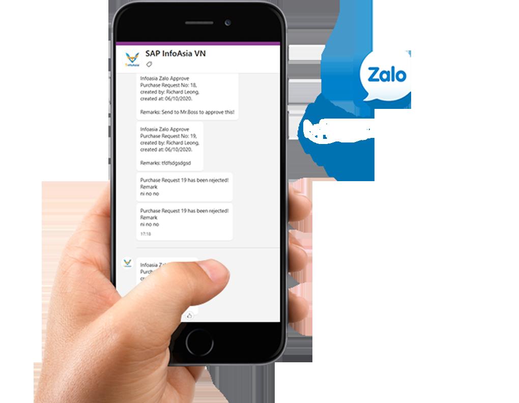 Zalo Approved